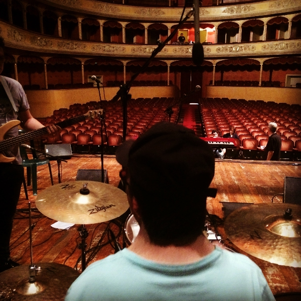 Rudely Interrupted live in Italy Storchi Teatro